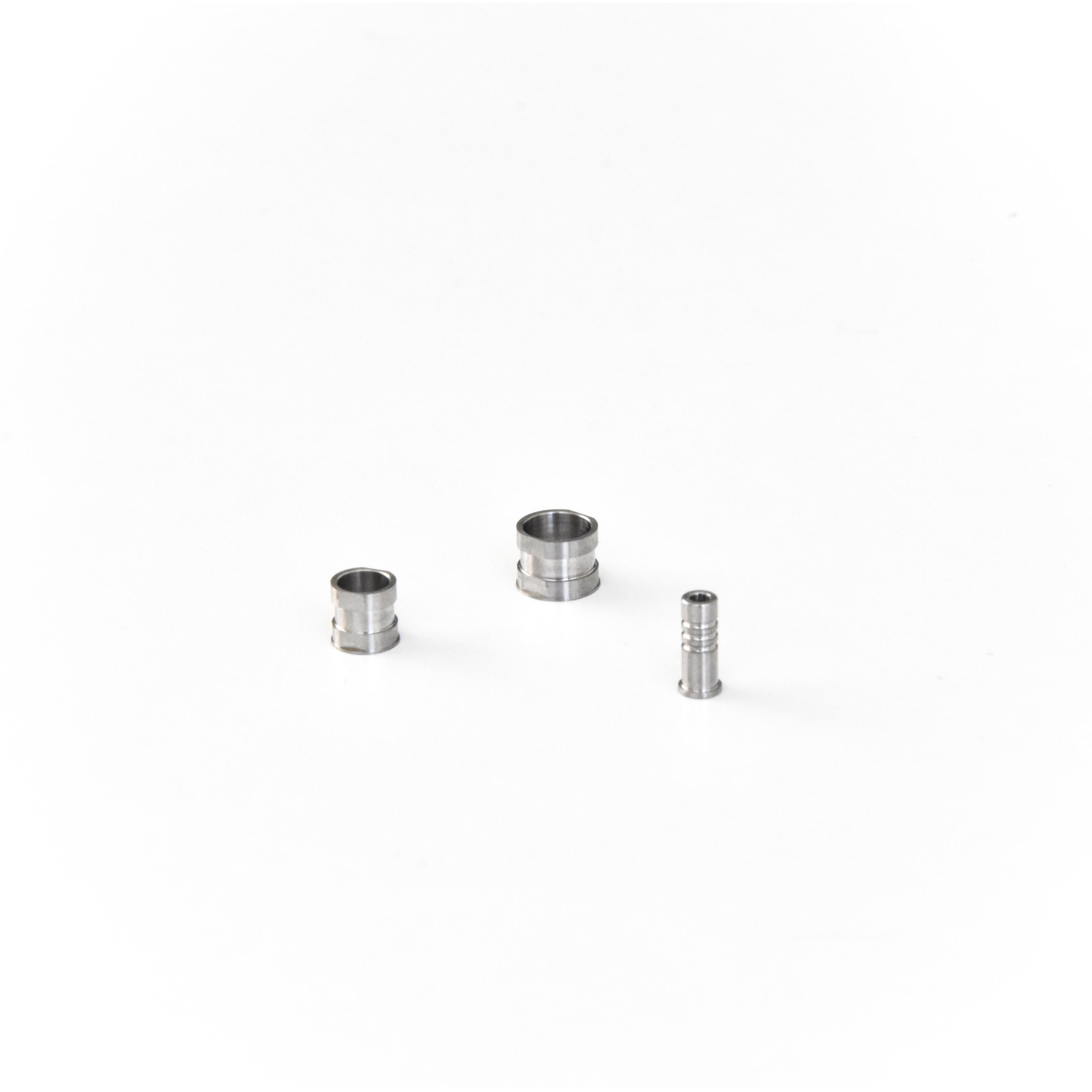 Bushings and components for guided surgery