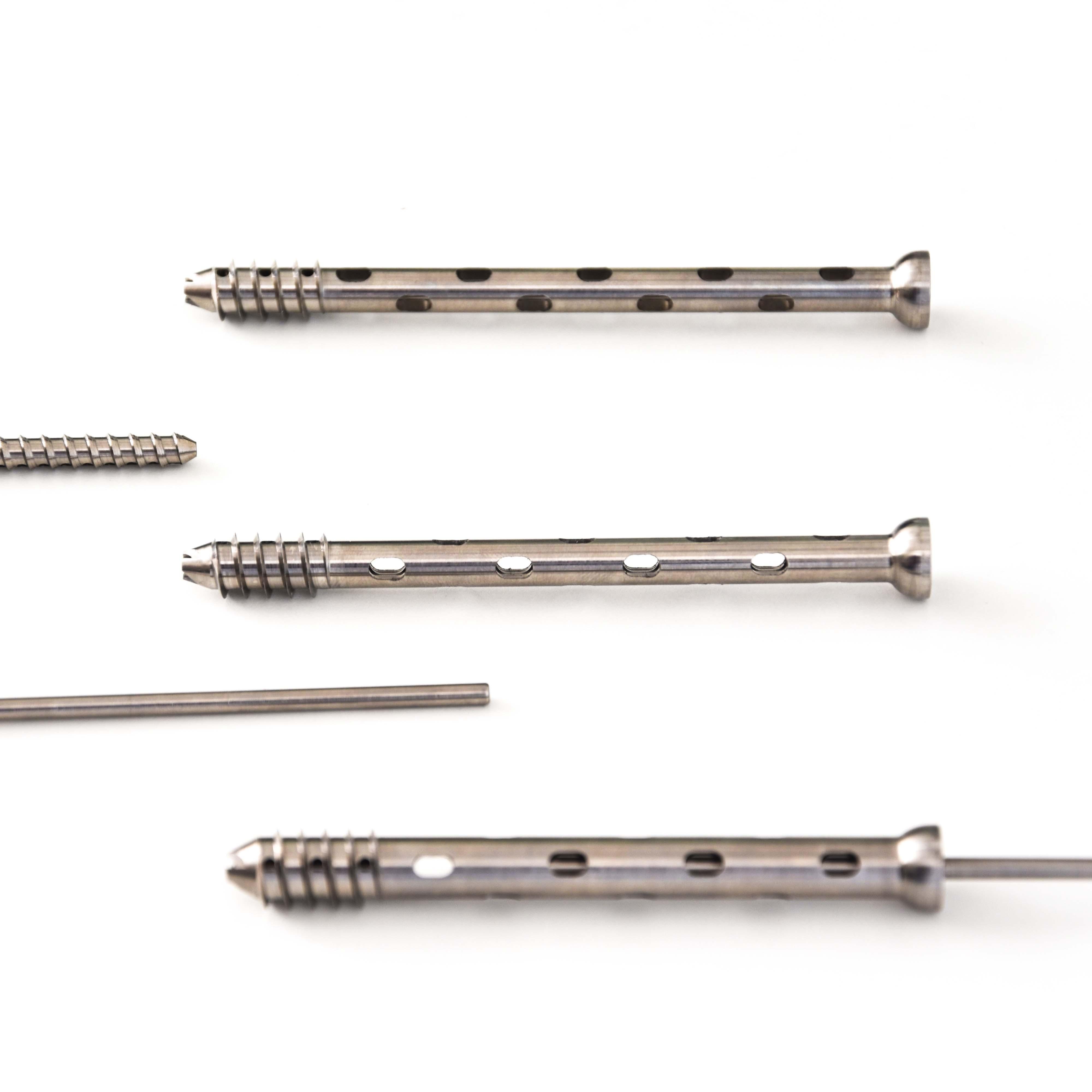 Cannulated orthopedic screws